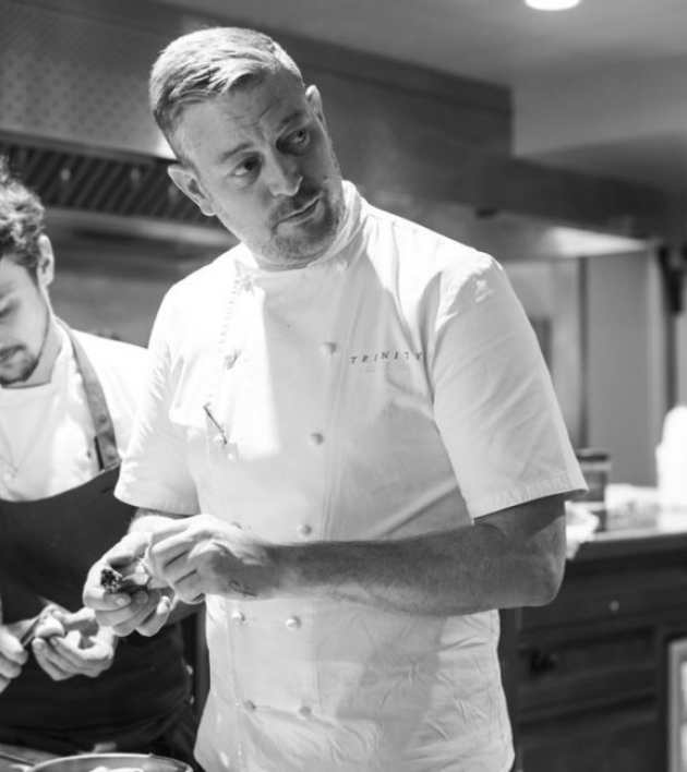 Chef Adam Byatt